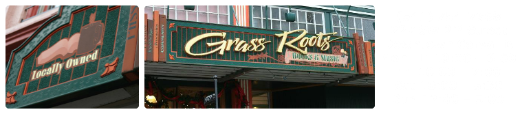 Grass Roots Books & Music